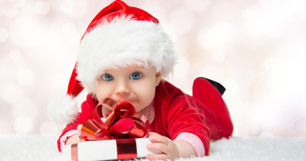Рисунки малыша на новый год