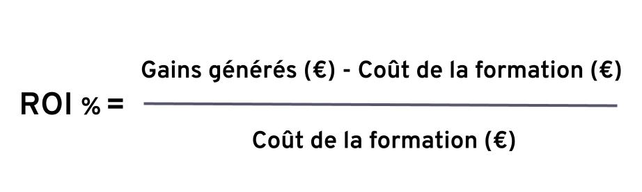 Calcul ROI - formule ROI