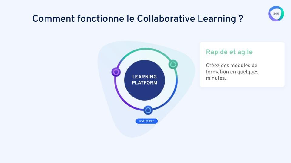 Le Collaborative Learning permet aux équipes de rester agiles