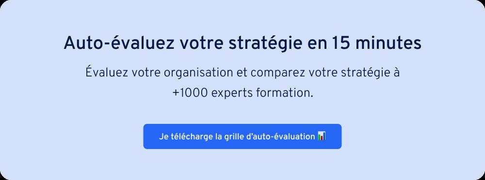 Grille auto-évaluation responsable formation