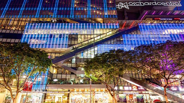 Orchard Central is home to Uniqlo's flagship store and provides a variety of shopping options for Martin Modern residents.