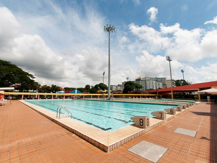 Delta Swimming Complex in Tiong Bahru