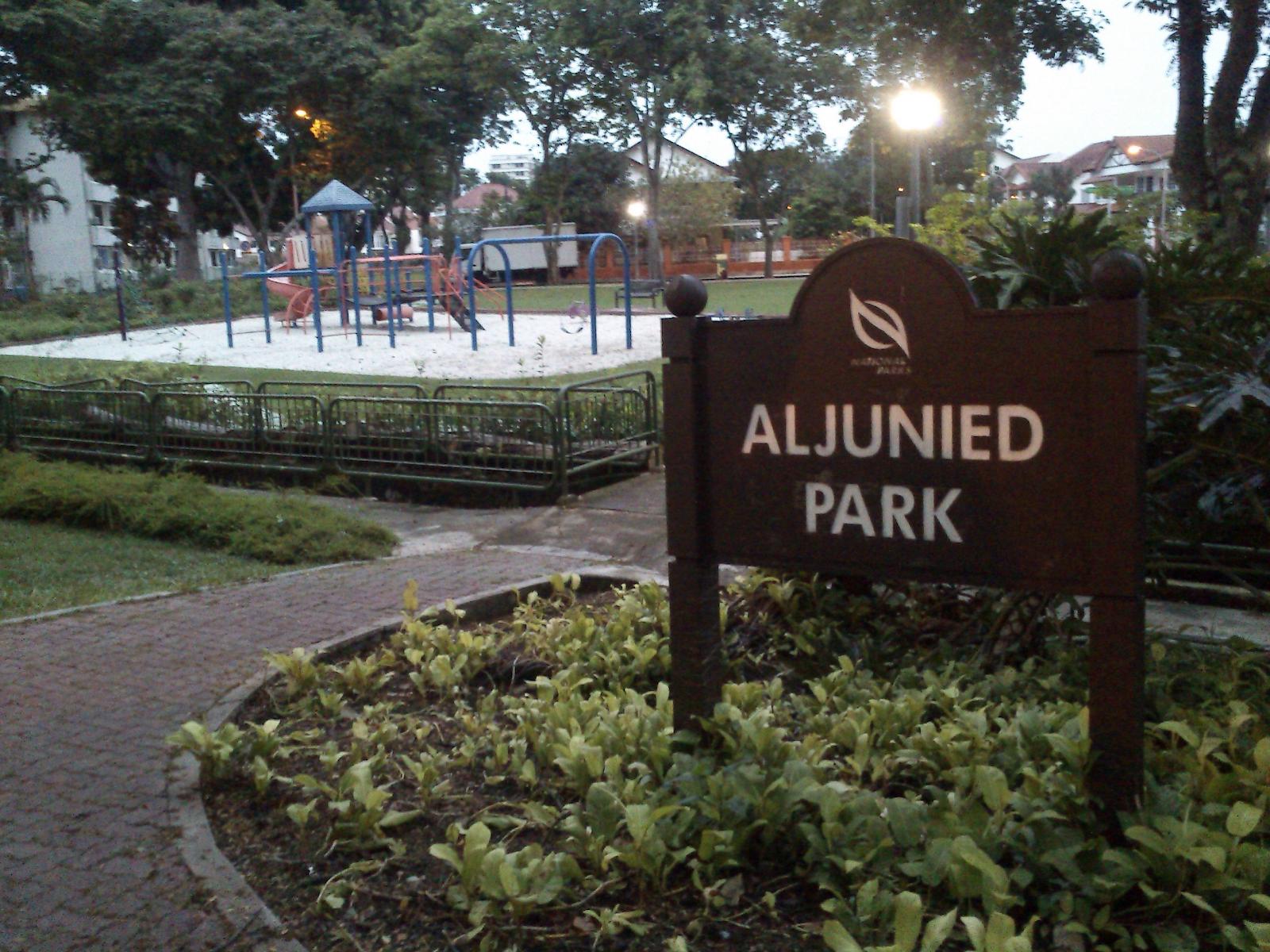 Aljunied Park in Geylang