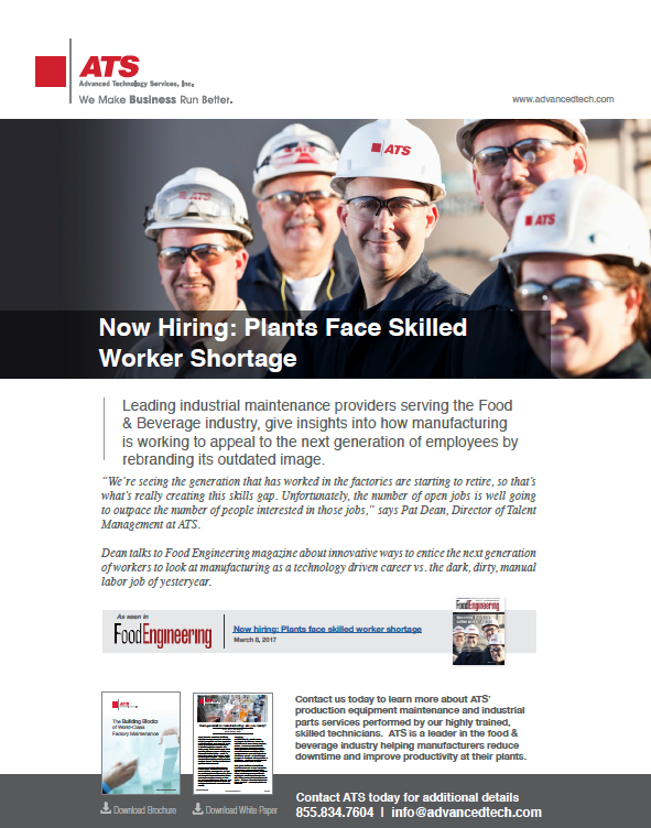 Now Hiring: Plants Face Skilled Worker Shortage