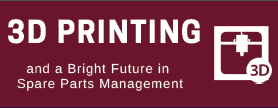 Bright Future in Spare Parts Management With 3D Printing Infographic