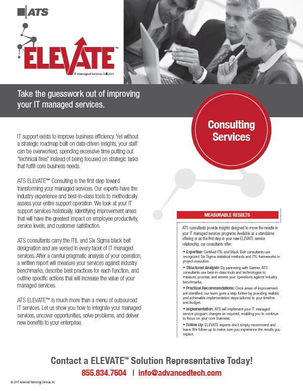 ATS ELEVATE Consulting
