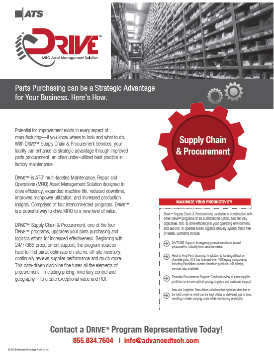ATS DRIVE Supply Chain and Procurement