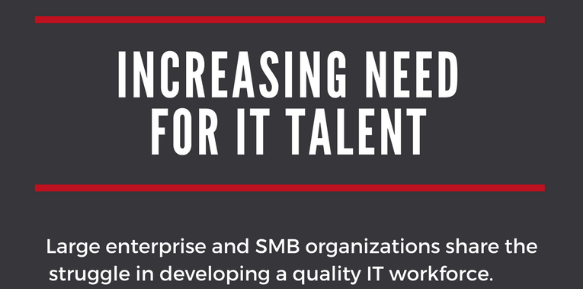 Increasing Need for IT Talent Infographic