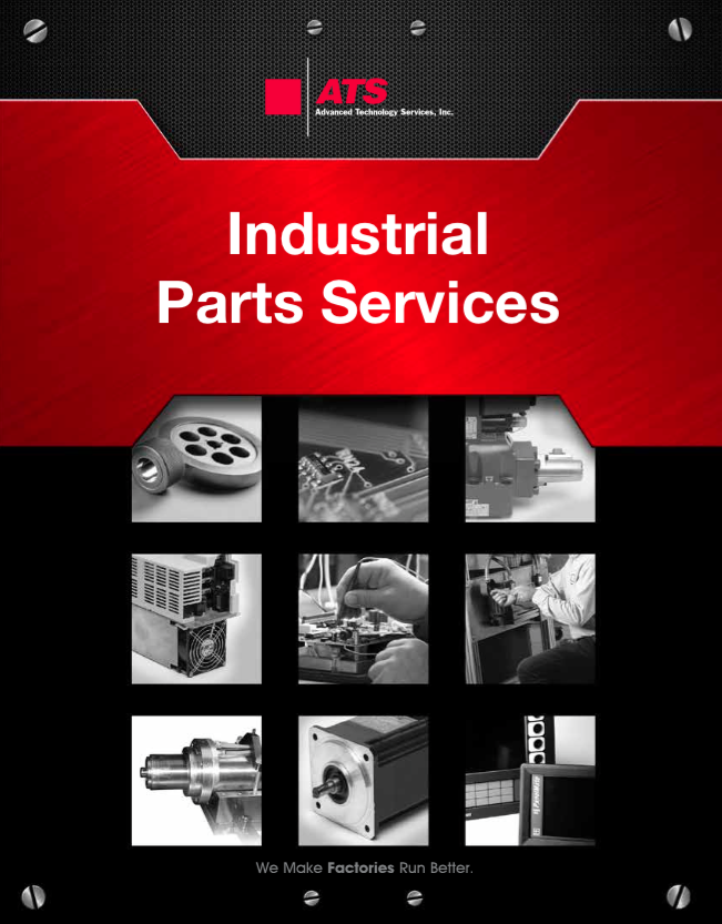 Industrial Parts Repair brochure
