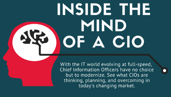 Inside the Mind of a CIO Infographic