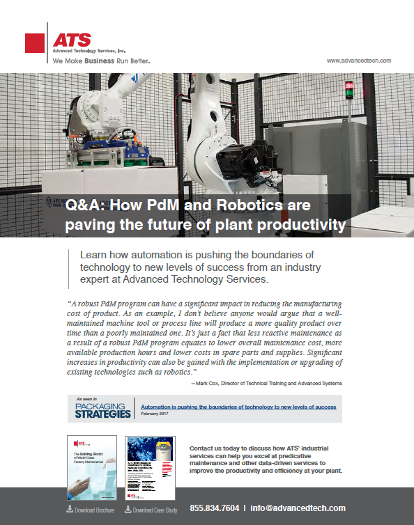 Q&A: How PdM and Robotics are Paving the Future of Plant Productivity.
