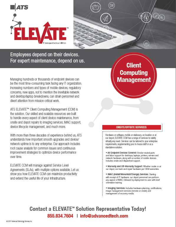 ATS ELEVATE Client Computing Management