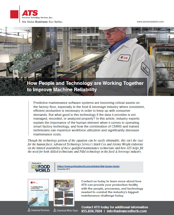How People and Technology are Working Together to Improve Machine Reliability