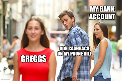 Greggs Airtime Rewards