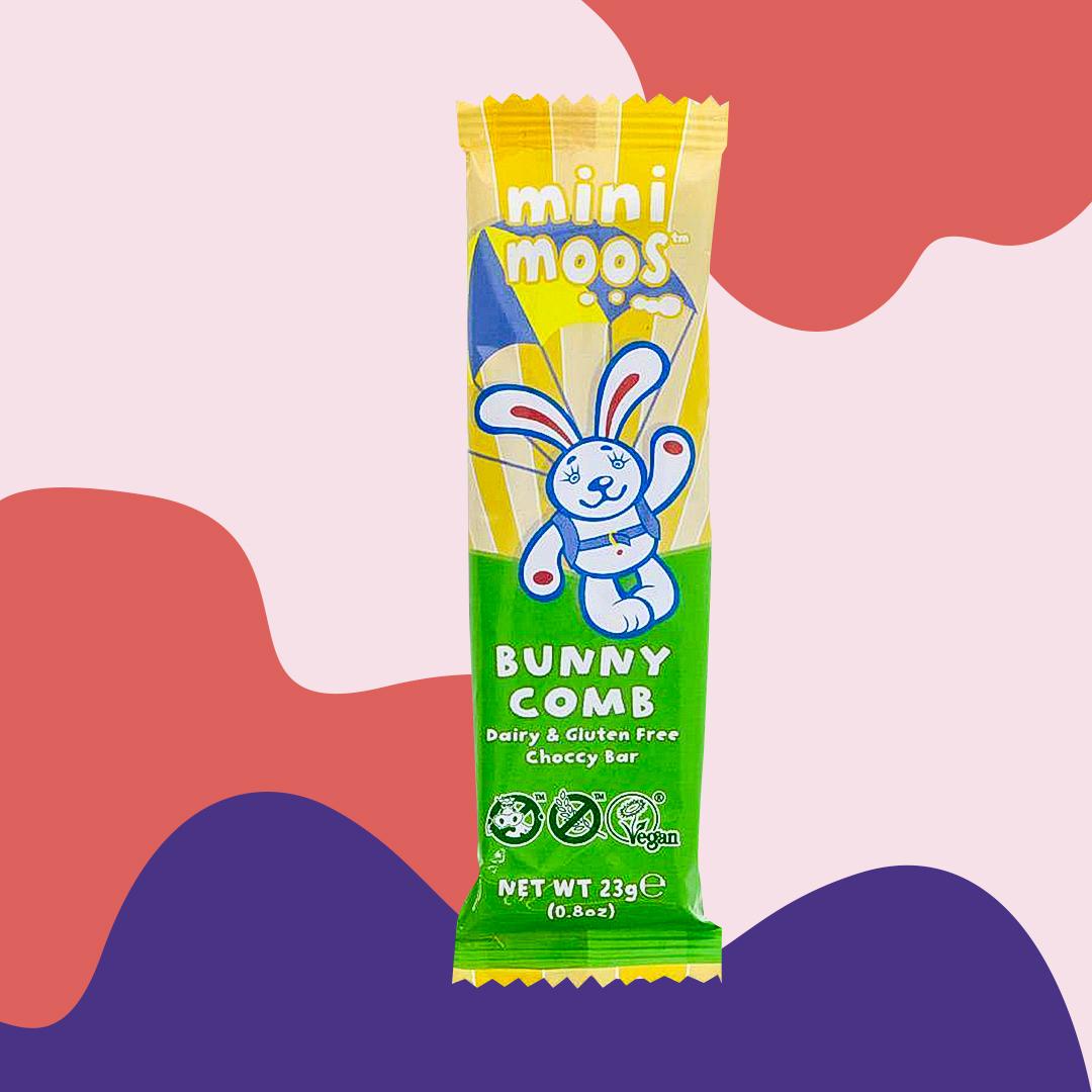 vegan mini moo bunnycomb