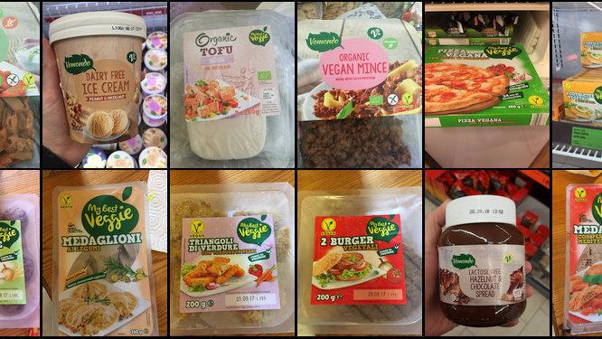 lidl vegan options