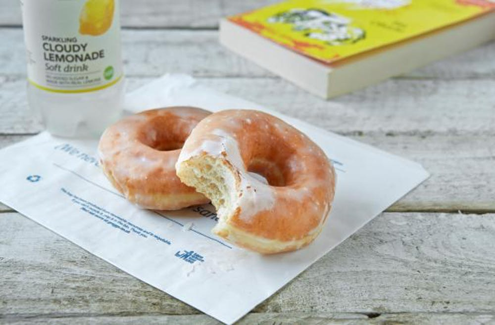 greggs vegan doughnut