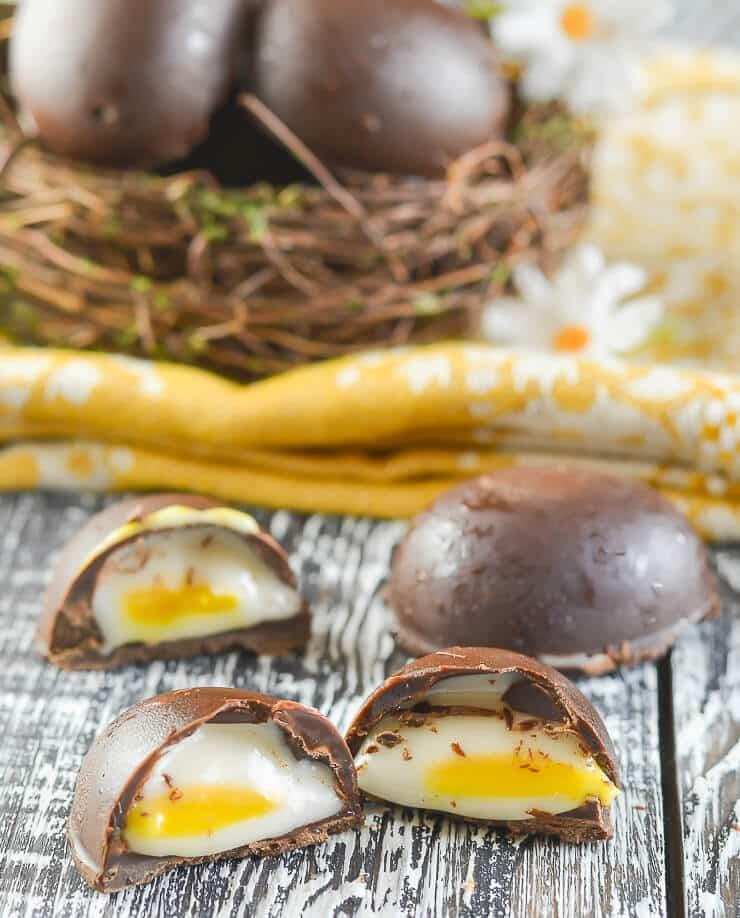 vegan creme egg recipe