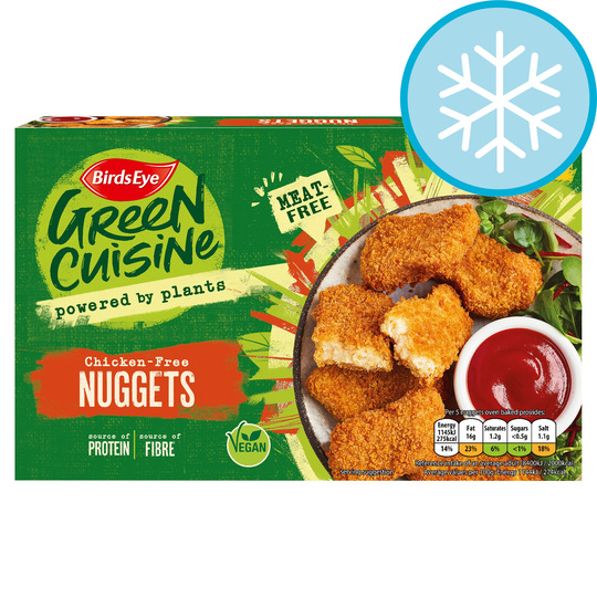 green cuisine nuggets