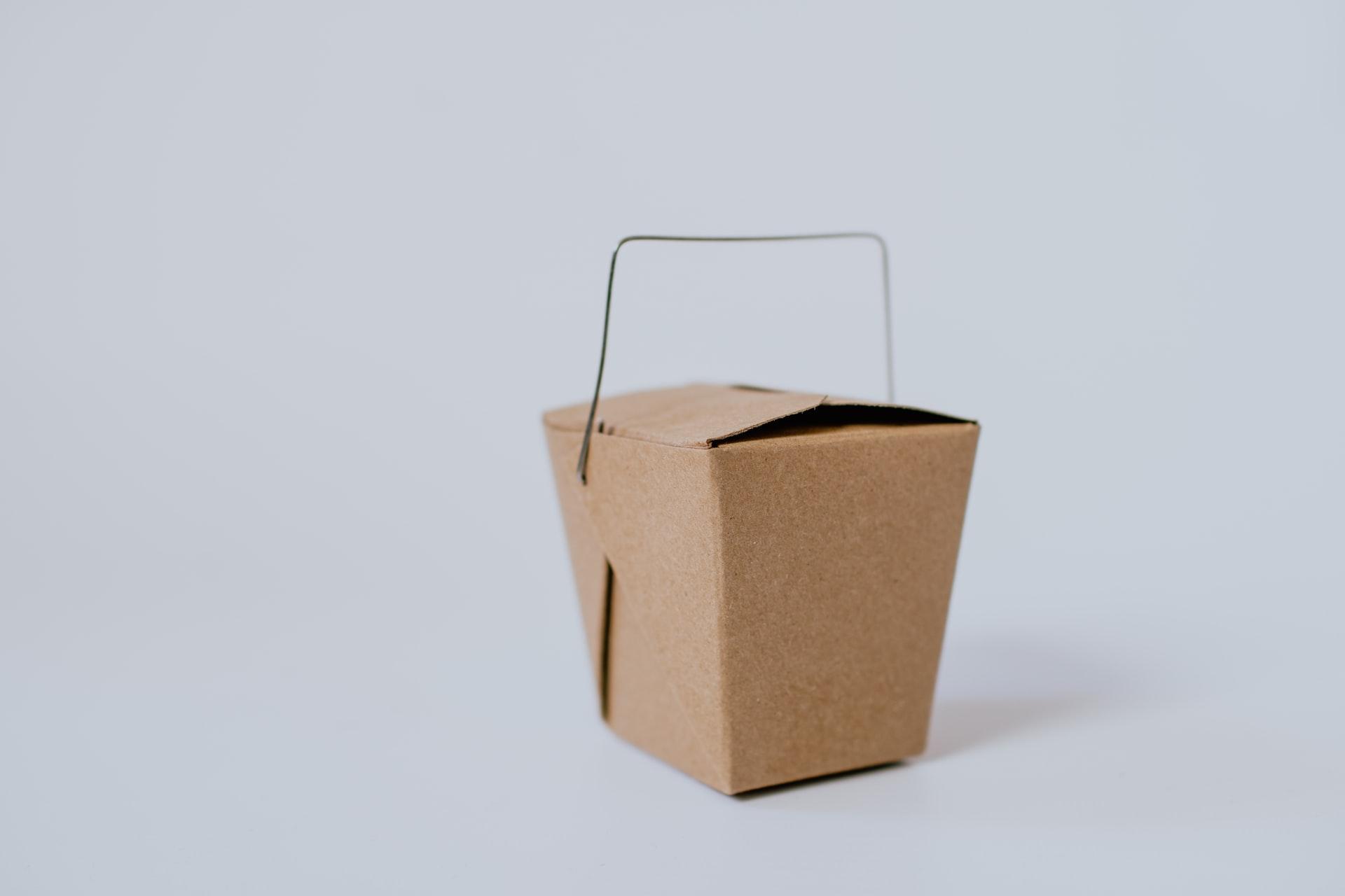 small chinese takeout box