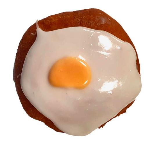 inside out creme egg doughnut