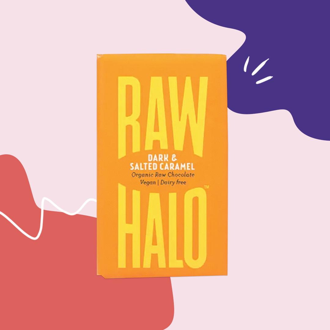 raw halo vegan dark chocolate