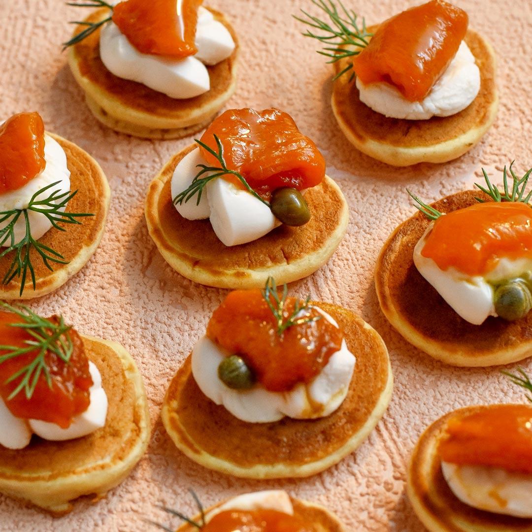 salmon-cream-cheese-blini-vegan
