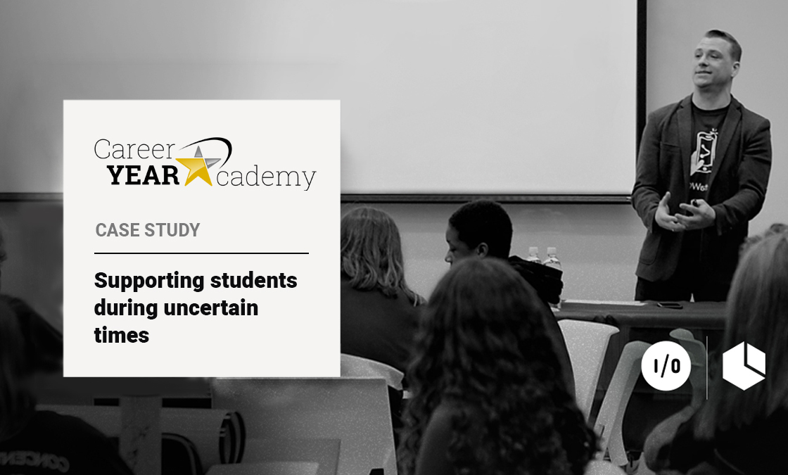 Case Studies: Career Year Academy - Supporting students during uncertain times