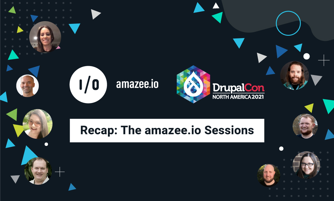 amazee.io and DrupalCon North America 2021 Recap: The amazee.io Sessions