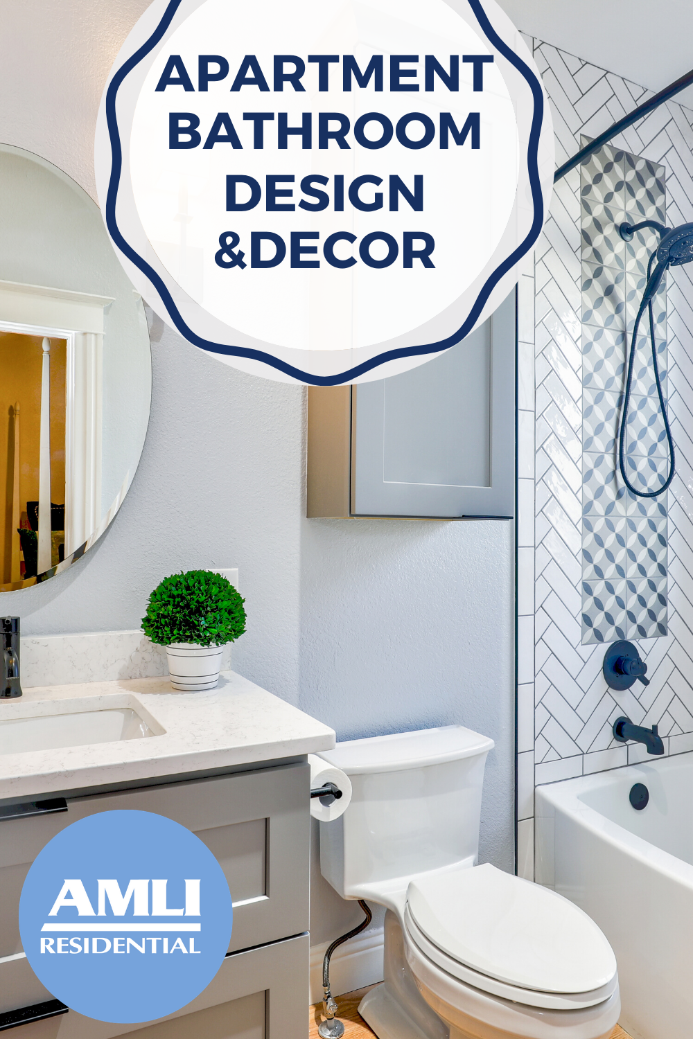 Rental Bathroom Decor Ideas