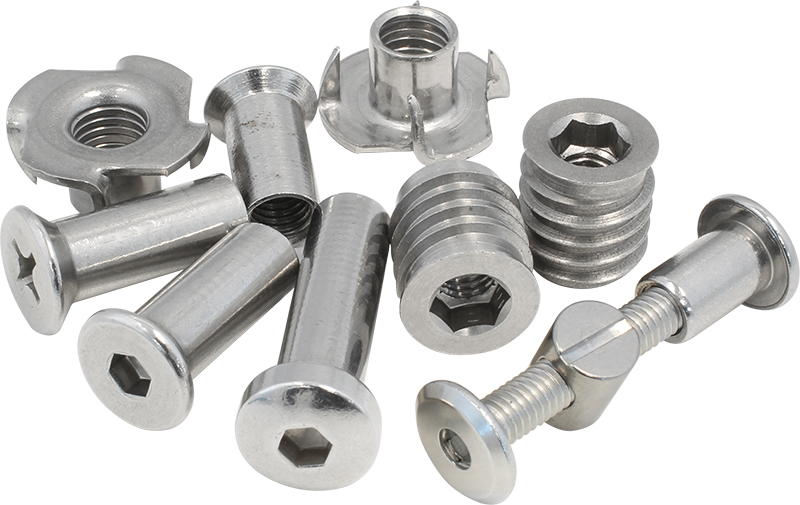 Stainless Barrel Nuts