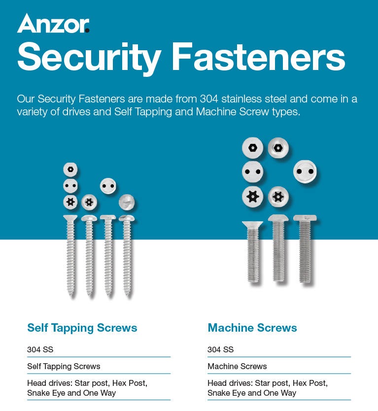 Stainless Security Screws Article