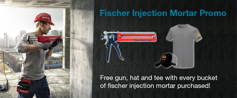 fischer Injection Mortar Promo Pack with Gun