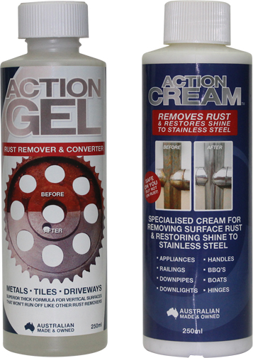 Stainless Steel Cleaner and Rust Remover