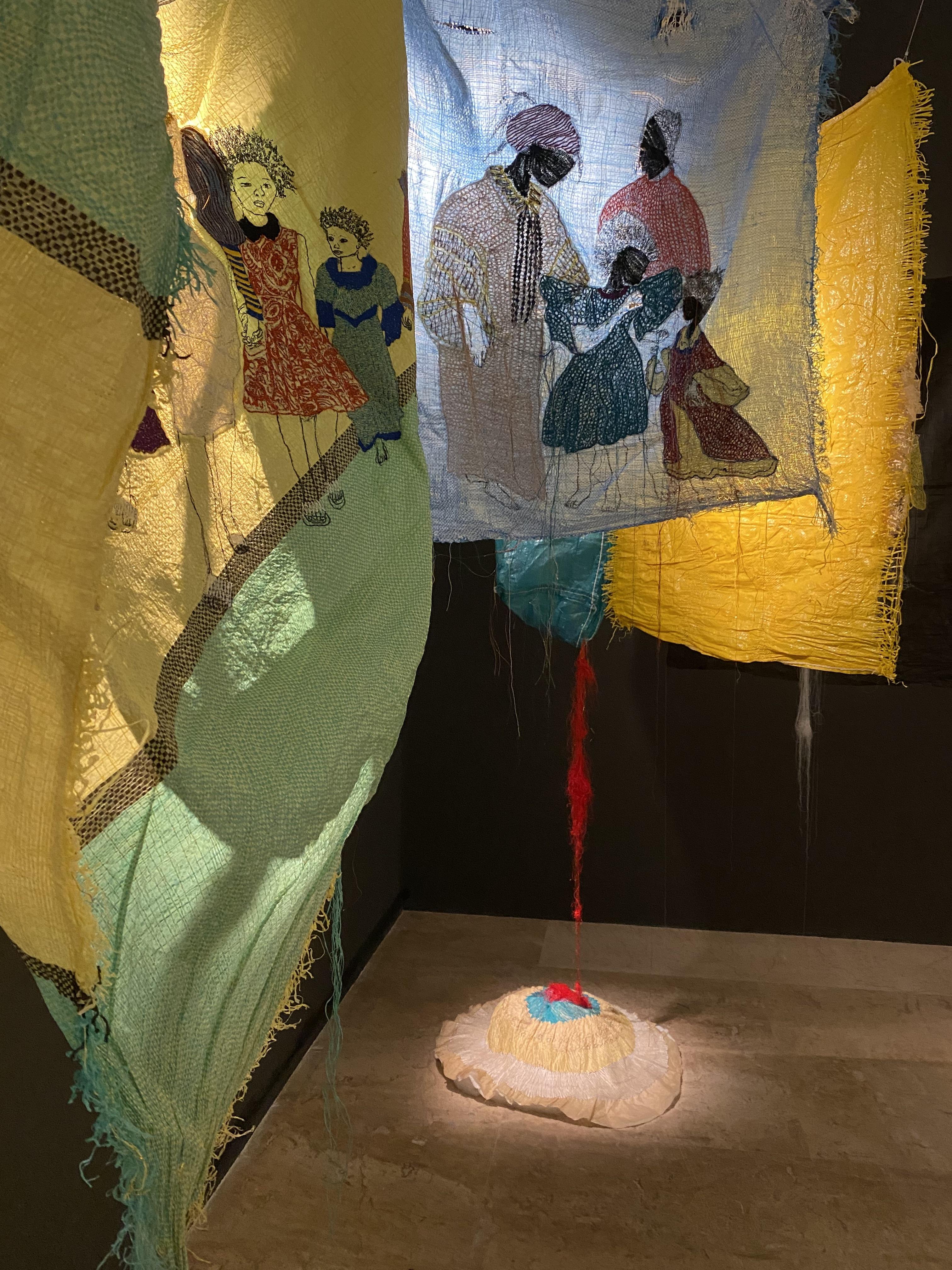 Ana Silva - 0 Fardo - The Power of My Hands - Musée d'Art Moderne de Paris
