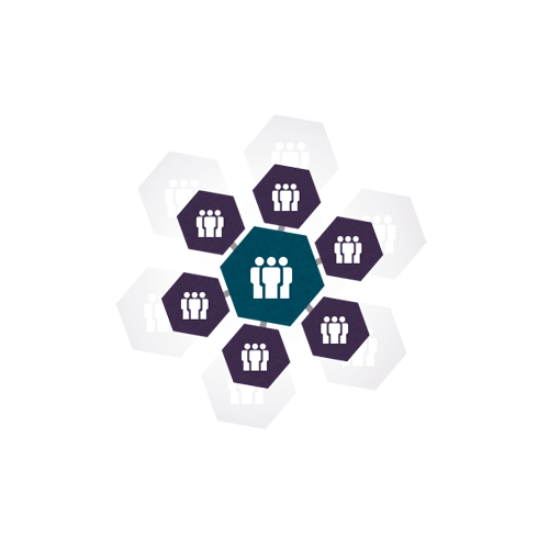 Teams rondom klanten expertise logo