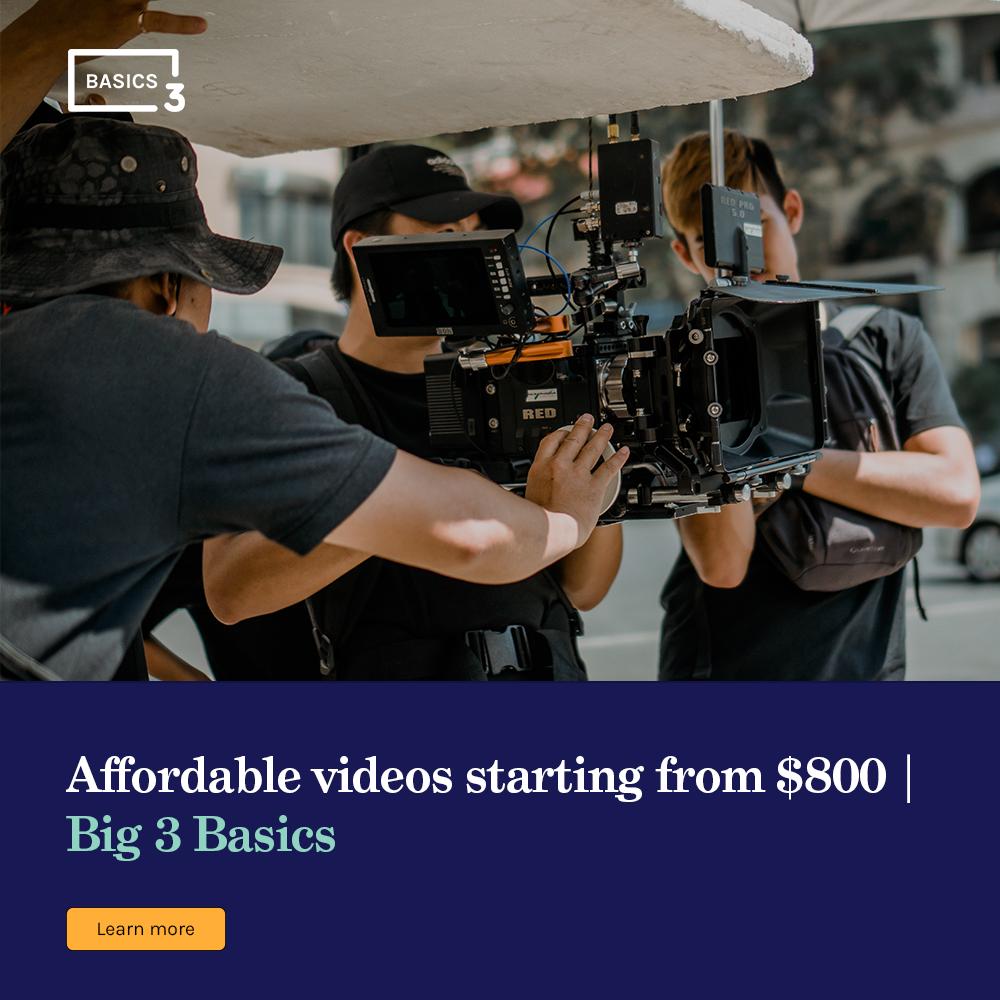 Big 3 media basic ads