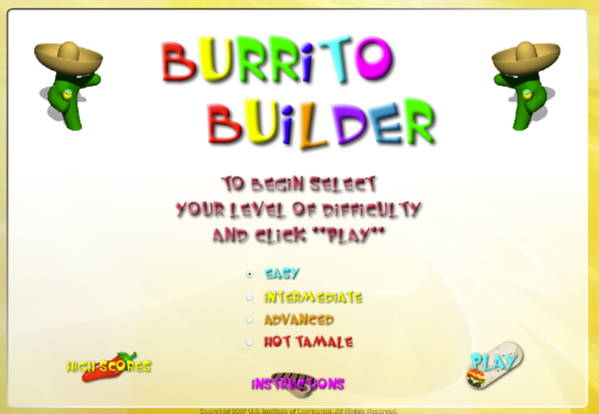 123 teach me tank game - But Probably The Best Spanish Learning Game I Ve Found Is Spanish Burito Builder