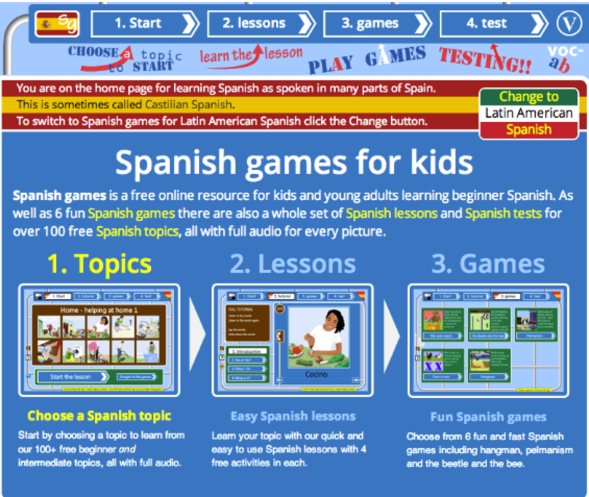 123 teach me tank game - It Is Truly Panic Attack Inducing Trying To Take It All It In And If You Do Make It To A Spanish Game The Road Sign Metaphor Will Drive You Crazy
