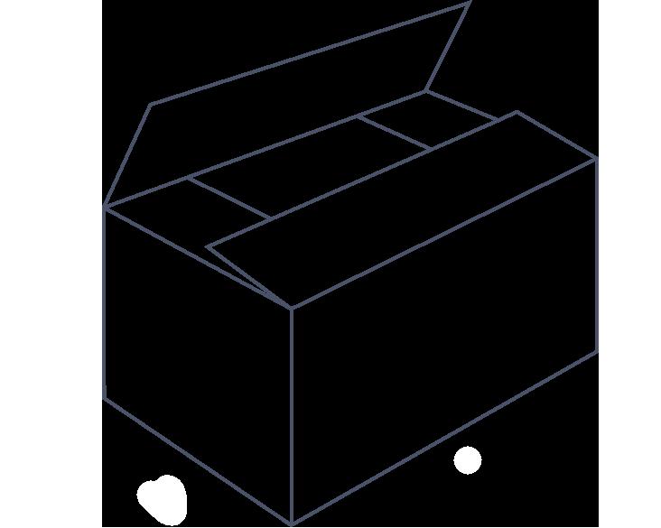 FEFCO 0701 Karton die cut