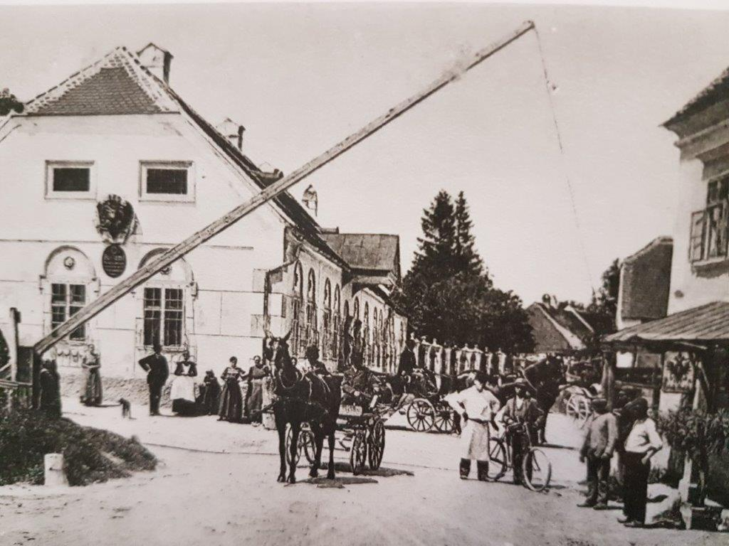 Mauthaus in Perschling, 1904