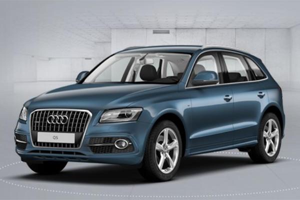 Audi Q5 Blue Utopia