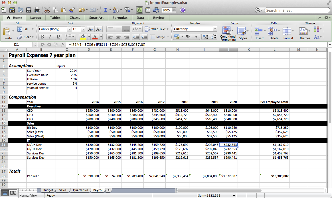 Doc - Importing Legacy Spreadsheets | ClearFactr