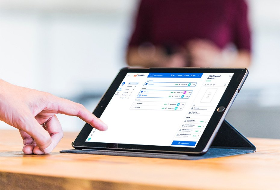 Skribble kann nahtlos in bestehende Prozesse und Systeme integriert werden (Quelle: Skribble)