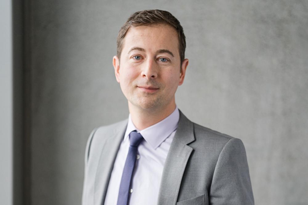 Marco Kissling ist Leiter Business & Digital Excellence bei Wincasa und mitverantwortlich für die Schaffung der Rahmenbedingungen und des Gesamtkonzepts für E-Rent (Quelle: Clara Tuma)