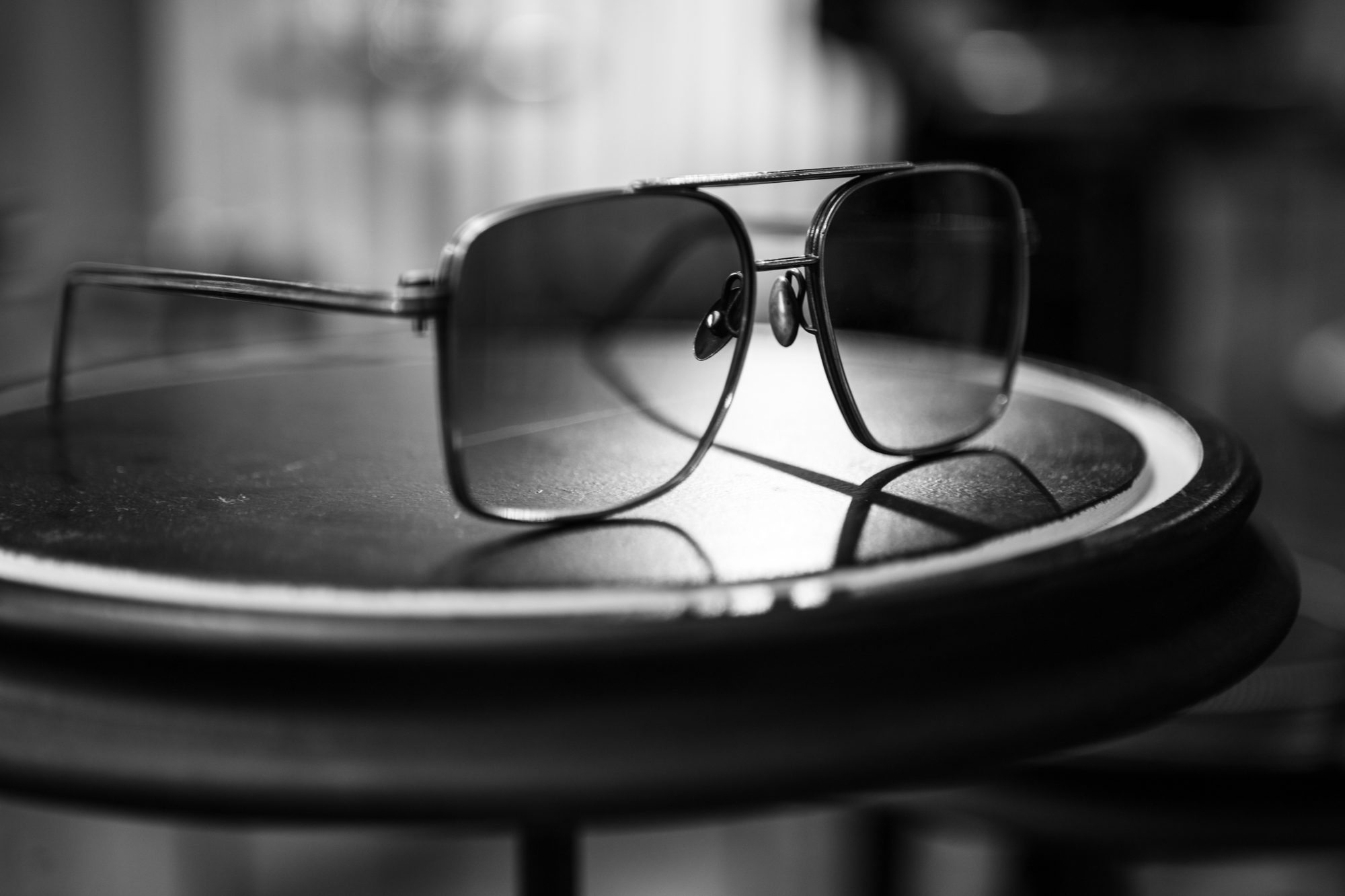 WERKSTATT:MÜNCHEN SHOWROOM Glasses #2 Faded Grey in Sterling Silver FW20