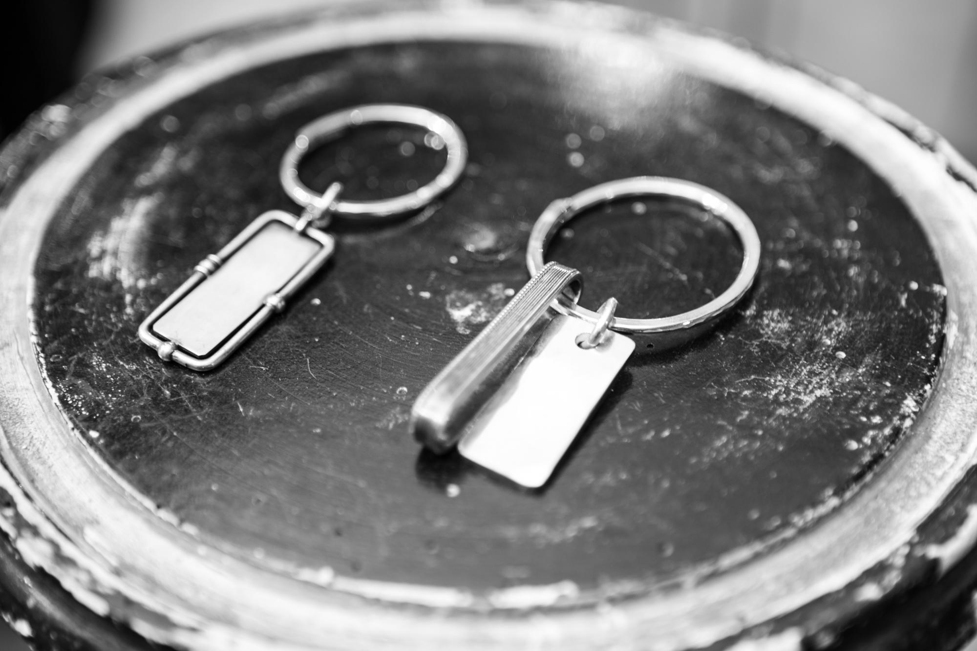 WERKSTATT:MÜNCHEN SHOWROOM Sterling Silver Key Rings FW20