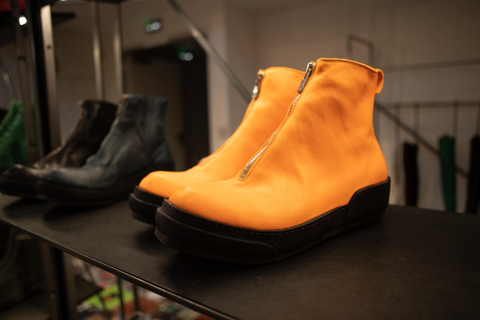 Guidi PLS Sneakers in Orange FW20