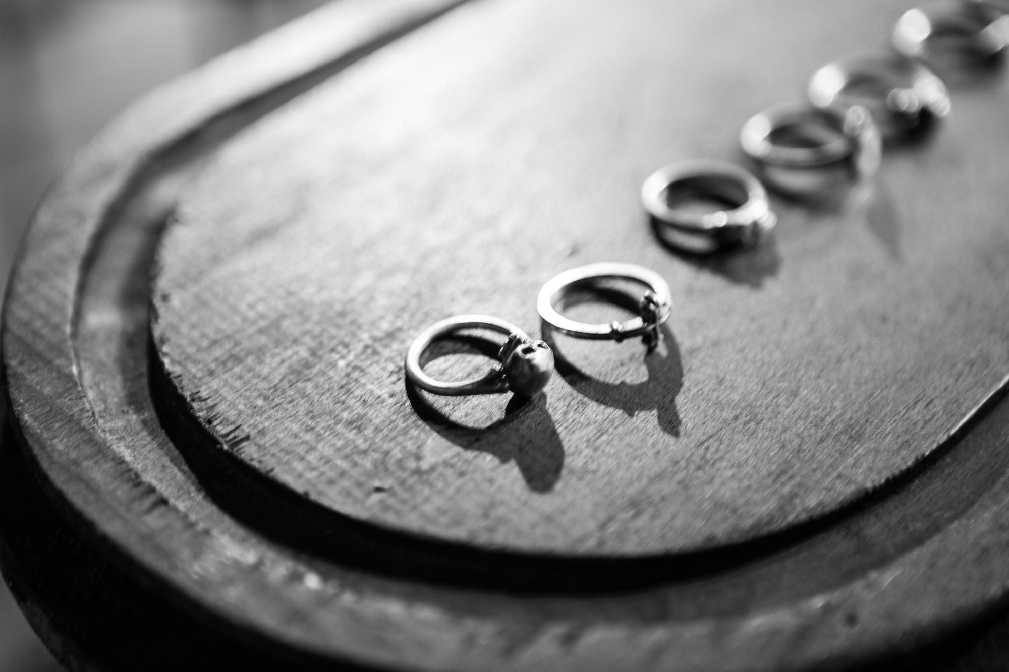 WERKSTATT:MÜNCHEN SHOWROOMSkull Ring Cross Ring on Display FW20