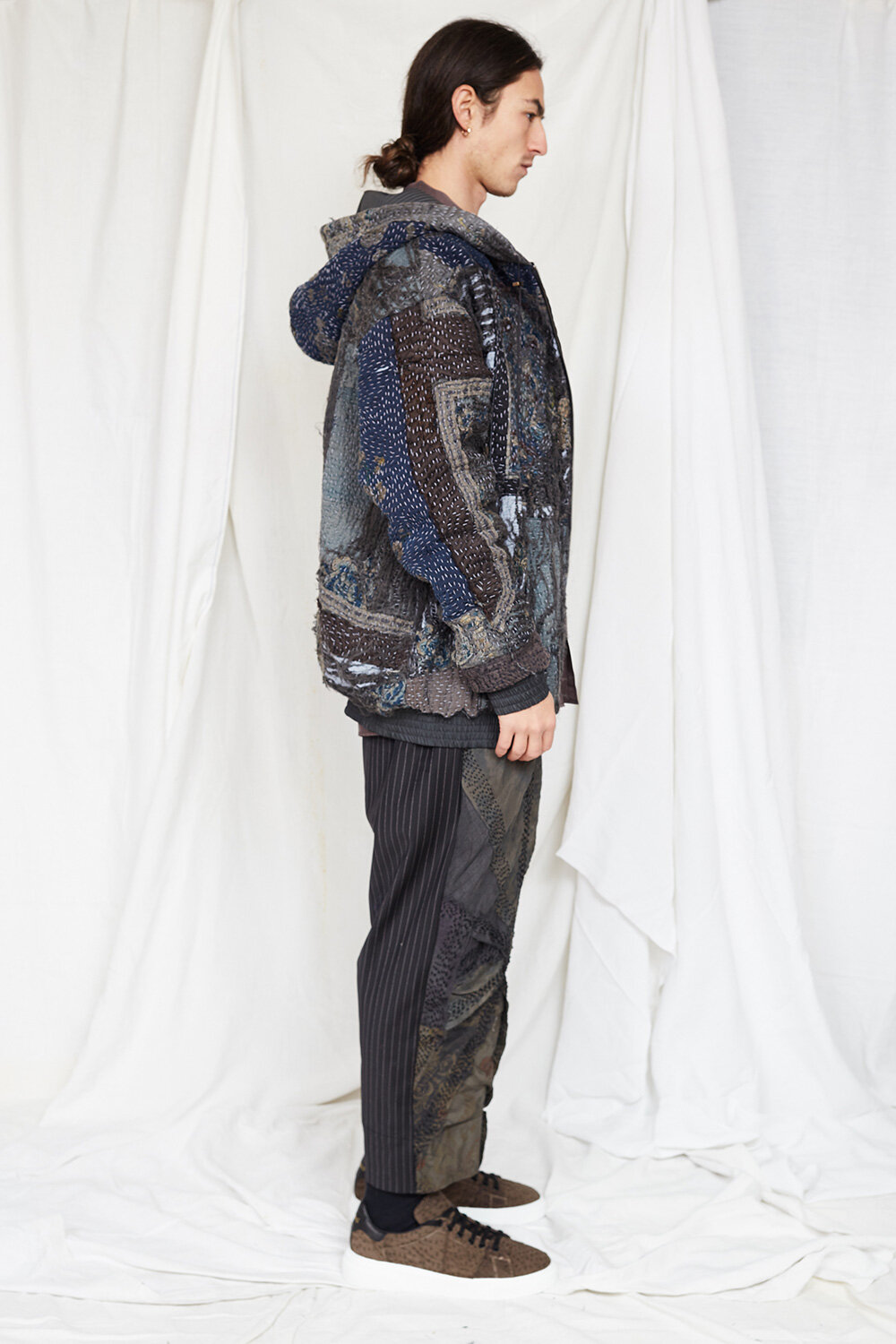 By Walid Campaign Phoenix Embroidered Hoddie AW20